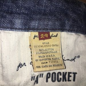 """7 For All Mankind Jeans - 7 for all mankind """"A Pocket"""" jeans"""